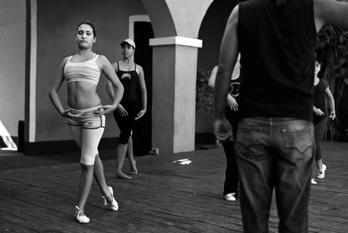 Danseskole i Trinidad.