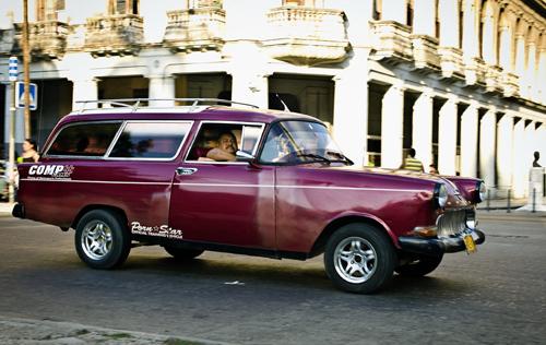 Avenida de las Misiones, Havana.