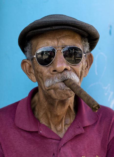 Fotograf Bjørn Moholdt på Cuba