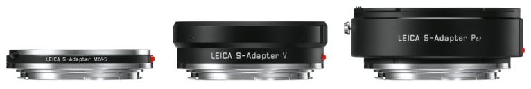 Leica S adapters