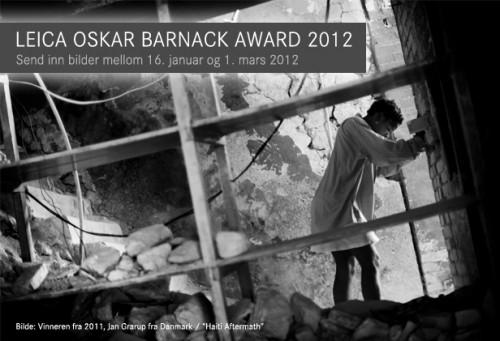 Leica Oskar Barnack Award 2012