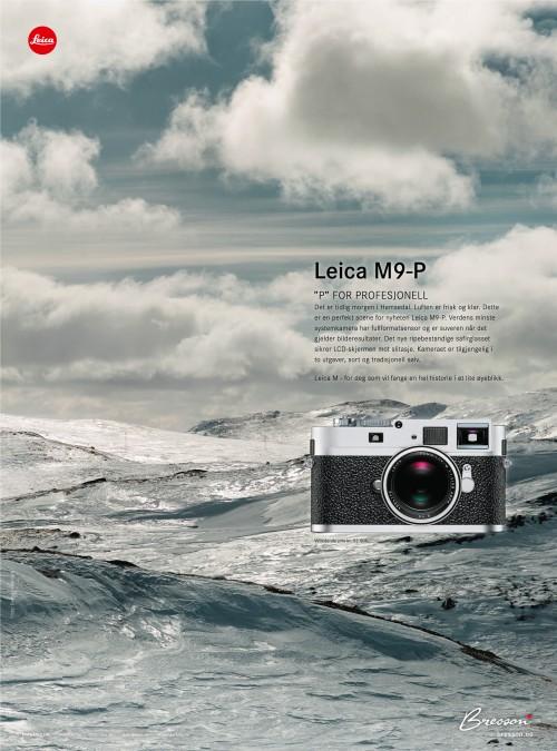 Annonse D2 Skiguiden Bresson Leica M9-P