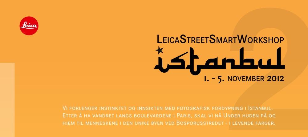Leica Street Smart Workshop Instanbul