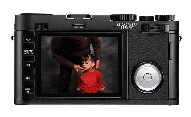 Leica X Vario bak