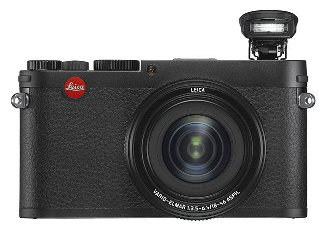 Leica X Vario med innebygd blits