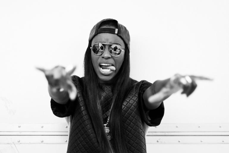 Angel Haze. Amerikansk rapper.