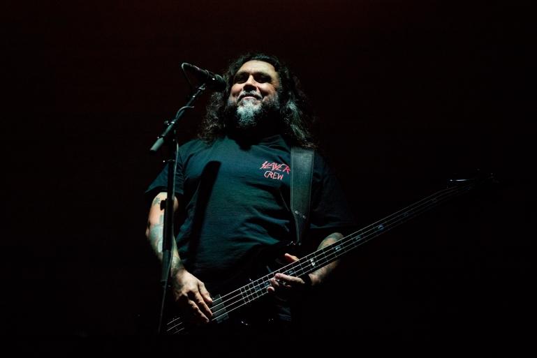 Tom Araya, bassist og vokalist i Slayer
