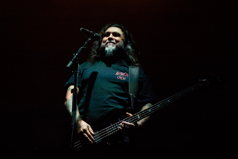 Tom Araya, bassist og vokalist i Slayer