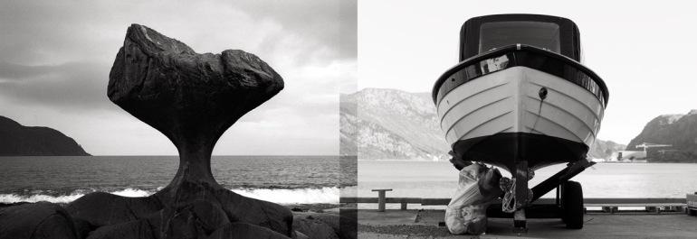 v) Kannesteinen. Leica M6, Summicron-M 35mm 2.0 ASPH h) Plastsnekke. Leica M9, Summicron-M 50mm 2.0