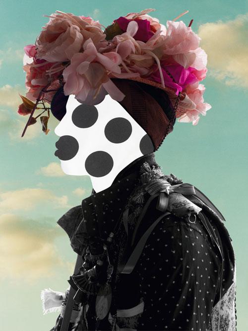 Man With Flower Sølve Sundsbø