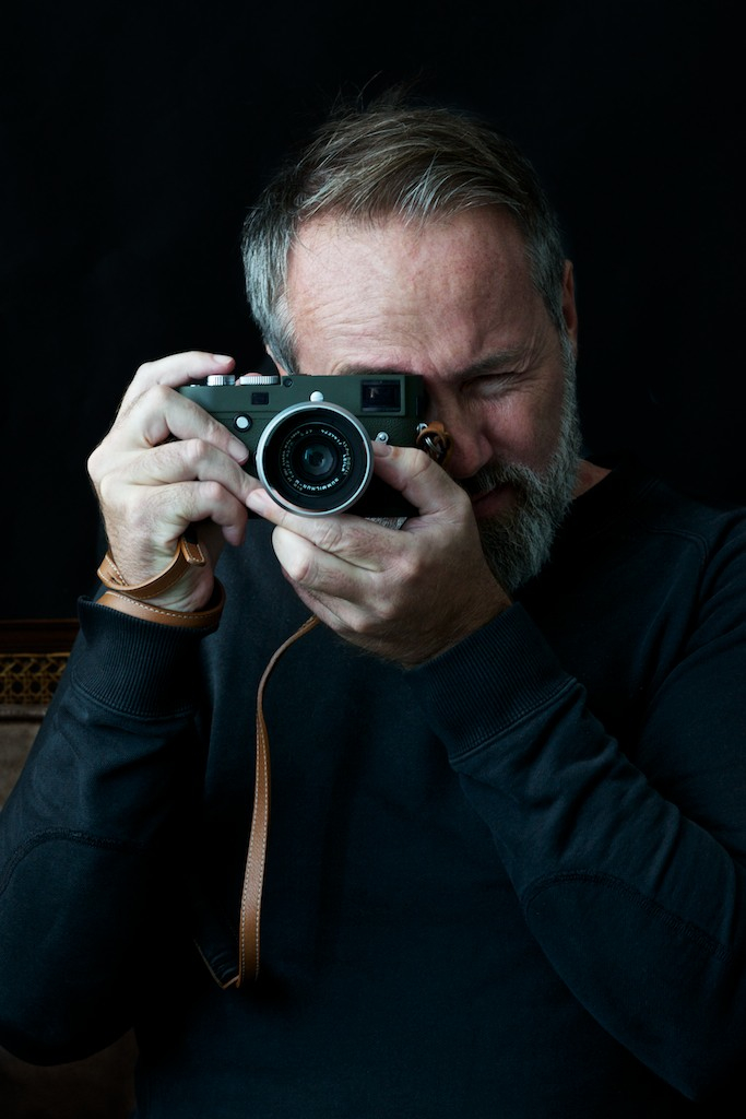Jo Bentdal with his new Leica M-P Set Safari.