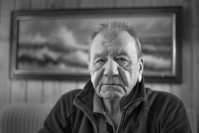 Jøgvan Nielsen, Færøyene. pensjonert fisker