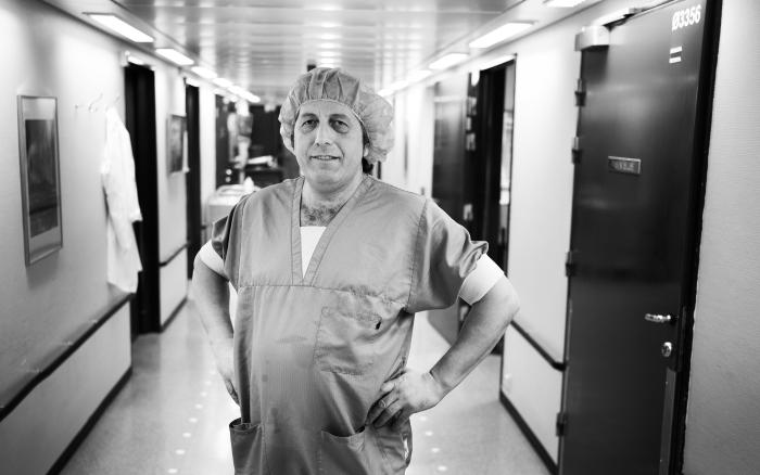 Nazmi Ramadani, Kosovo. Renholder Hammerfest sykehus