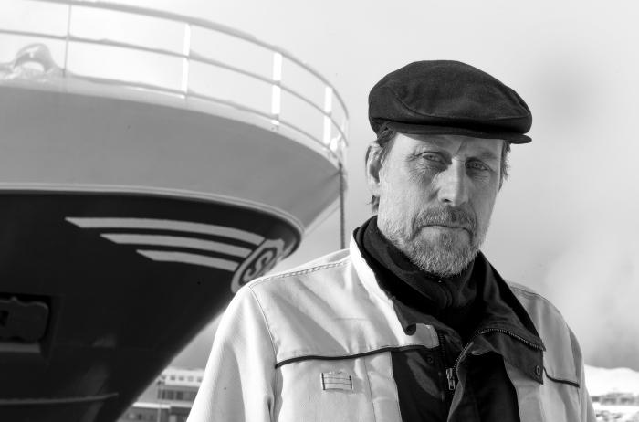 Mats Albinsson, Sverige. Havnearbeider