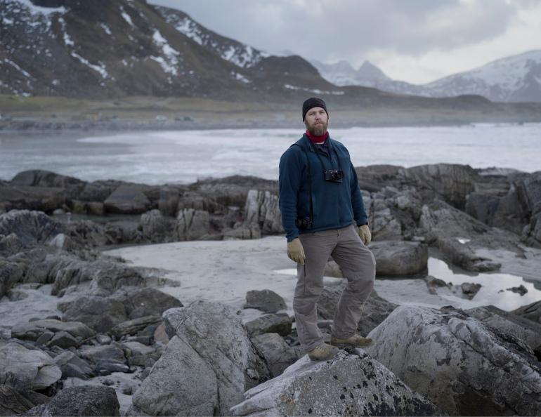 Eivind Natvig in Lofoten